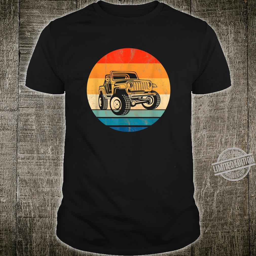 Vintage Off Road 4X4 Retro Style 60s 70s 80s Shirt