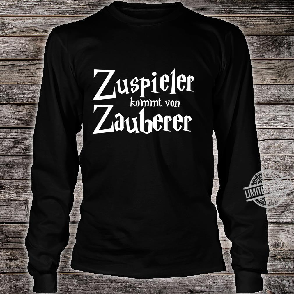 Zuspieler kommt von Zauberer Volleyball Shirt long sleeved